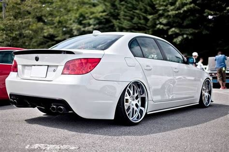 bmw m5 slammed bmw e60 m5 white deep dish slammed bmw ultimate