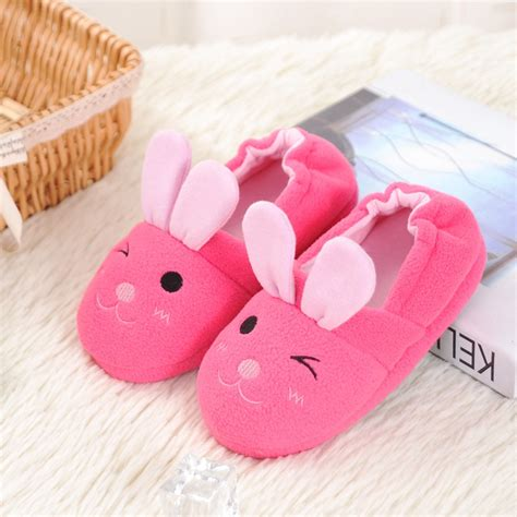 children s animal slippers rabbit animal pattern slippers home slippers