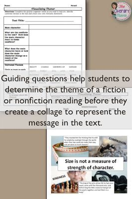 theme evidence definition visualizing theme with evidence based collages graphic