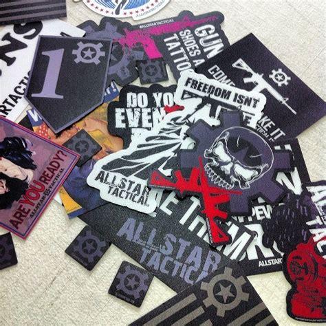 Custom Offset Sticker