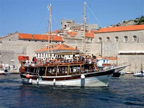 dubrovnik boat trips prices south dalmatia excursions incoming croatia