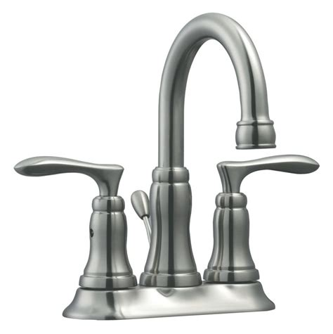 design house madison kitchen faucet faucet com 525840 in satin nickel by design house