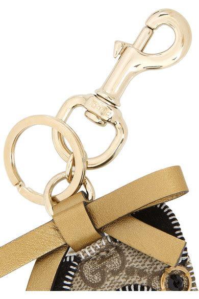 gucci pug keychain gucci oliver pug embellished key chain net a porter