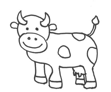 vaca para dibujar vaca dibujo www pixshark com images galleries with a bite