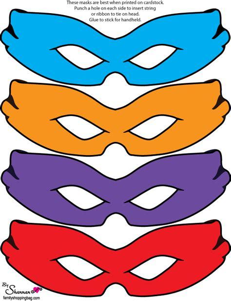 Mask Tmt Turtle Isi4 free mutant turtles printables
