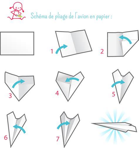 Origami Avion - avion en papier origami kid activities and craft