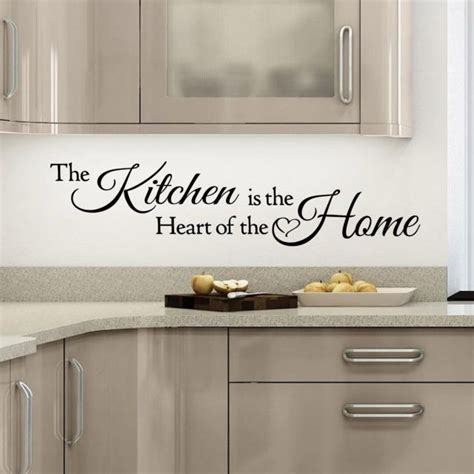 Wall Quotes For Kitchen by Removable Wall Quotes For Kitchen Quotesgram