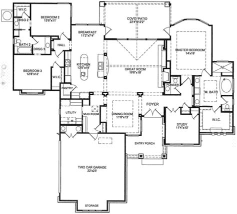 Floor Plans Custom Home Building Remodeling And Custom House Plans Tx