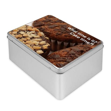 personalized photo cookie tins customized tins bags of