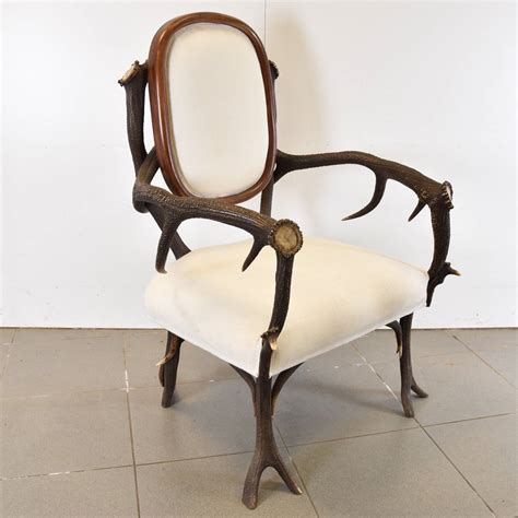 decorative recliners decorative deer antler hunting chair antique furniture