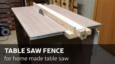 how a table saw how to a table saw fence for table saw