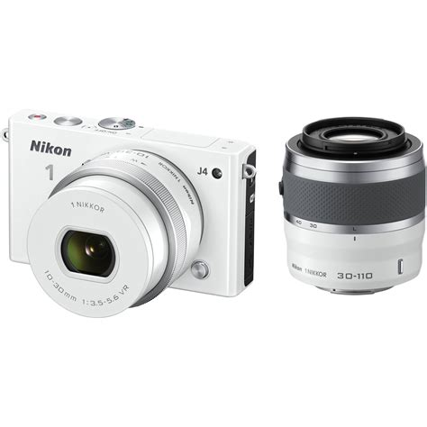 nikon 1 j4 mirrorless digital with 10 30mm and 27687 b h