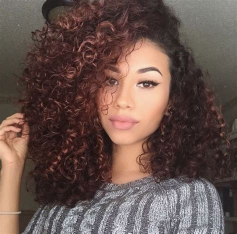 curled hairstyles instagram 188 best ideas about natural curly hair on pinterest