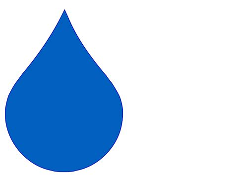 Raindrop Outline Clipart by Water Drop Outline Cliparts Co