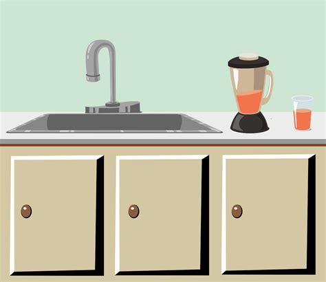 kitchen countertop sink sink clip dothuytinh