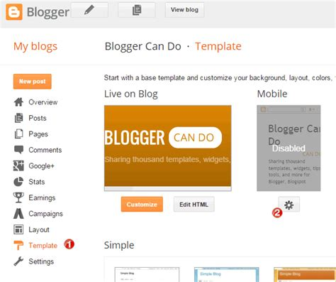 how to enable responsive feature for custom blogger templates