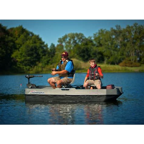 two man boats at academy sun dolphin sportsman 8 ft 5 in fishing boat academy