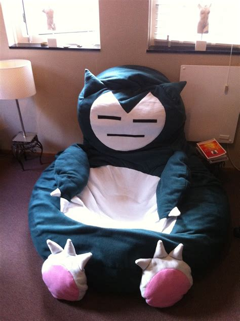 snorlax bed snorlax beanbag chair by yak1tor1 on deviantart