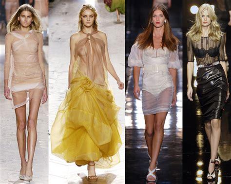 Summer 08 Trends Sheer Fabrics by 2008 Fashion Sheer Fabrics