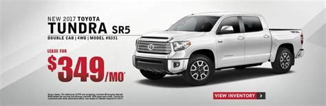 Toyota Lease Offer Lease Offers On New Toyota Vehicles In County