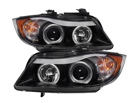 bmw e90 headlights bmw e90 3 series 06 08 4dr projector headlights