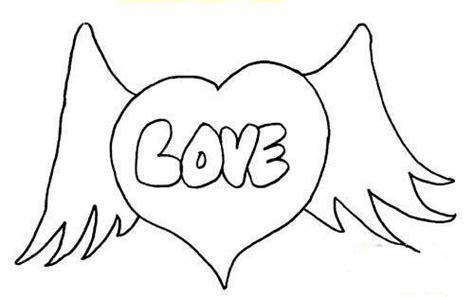 nat love coloring pages 情人节简笔画