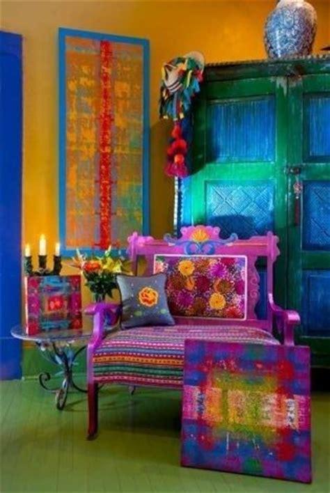 ev dekorasyon hobi bohem stili oturma odaları