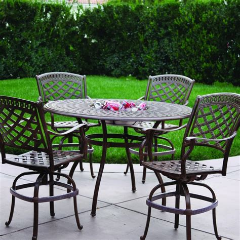 patio furniture bar bar height outdoor tables tables bar height patio table and swivel chairs bar height patio set