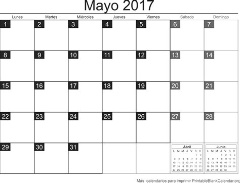 Calendario Gratis Mayo 2017 Calendario Para Imprimir Calendarios Para Imprimir