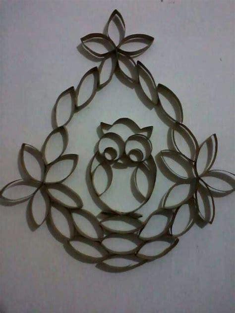 imagenes de flores con tubos de papel bao hermoso b 250 ho hecho con royos de cart 243 n del papel de ba 241 o