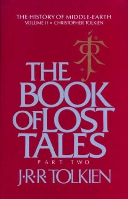The Book Of Lost Tales Part One History Of Middle Earth j r r tolkien book covers