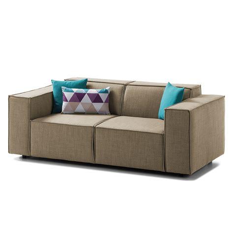 sofa kinx 2 sitzer webstoff keine funktion stoff