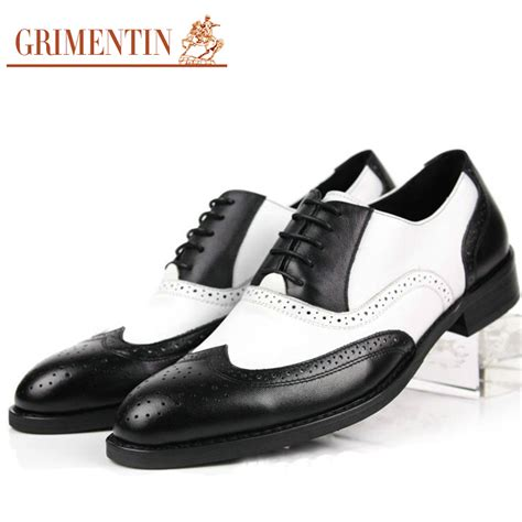 black and white mens oxford shoes purple dress shoes for promotion shop for promotional