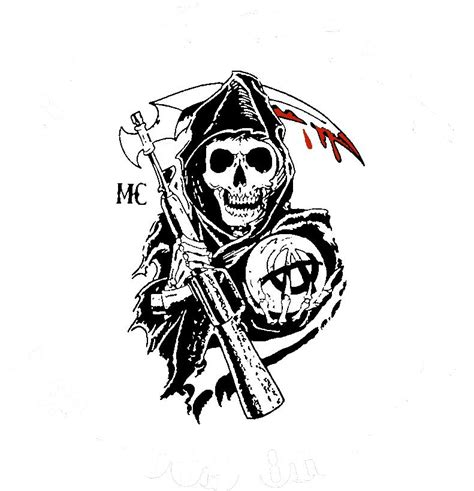 sons of anarchy back tattoo sons of anarchy reaper www pixshark images