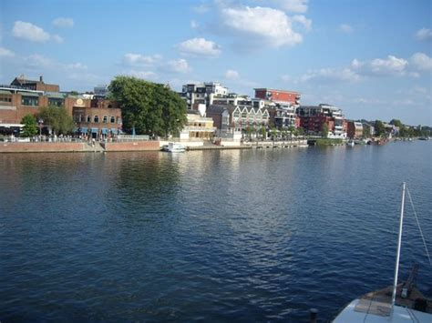 river thames kingston fishing view of bars along the river thames picture of the white