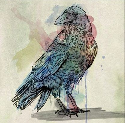 watercolor tattoo raven superior watercolor design tattooimages biz