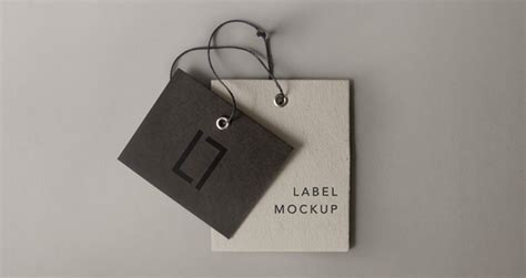 Hoodie Chion Ful Tag Label psd label brand mockup vol6 psd mock up templates pixeden