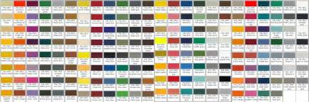 powder coating colors prattville powder coating colors