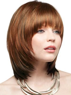 face frame haircuts shoulder length fine sleek shoulder length blunt cut with long bangs hair