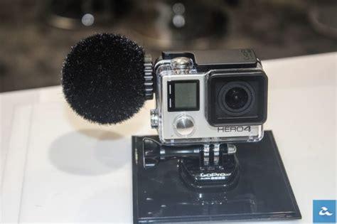 Untuk Gopro sennheiser memperlihatkan sokongan mikrofon kalis air untuk gopro pru14 dot tv