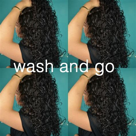 wash leave wavy hair wash and go curly hair routine type 2c hair i wouldn