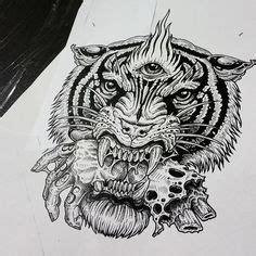 mandala tattoo new zealand majestic rogue tiger sticker black graphics on a