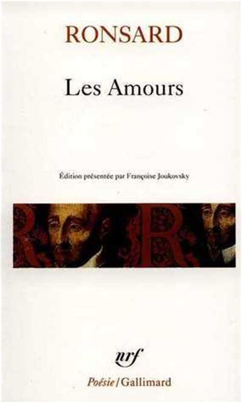 2070321347 les amours read online les amours pierre de ronsard read free