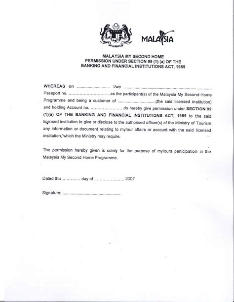 authorization letter format for pawn shop malaysia visa application letter writing a re papervisa