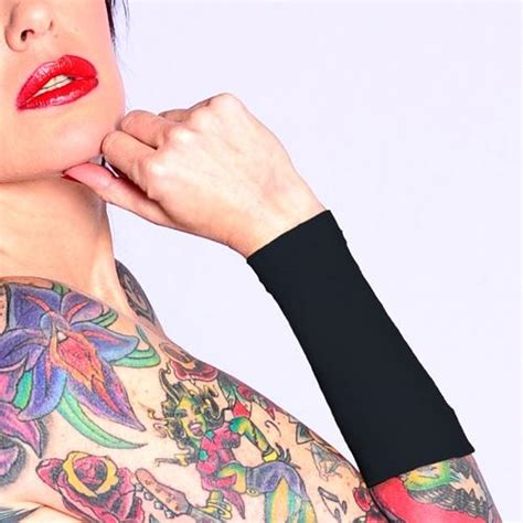 tattoo cover up tape black forearm cover to hide tattoos at work ink