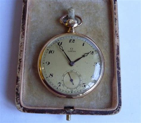 omega 14ct gold pocket 35839 price value antique
