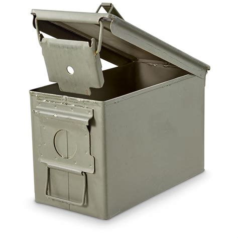 Ammo Storage Container - u s military surplus waterproof 50 caliber ammo can used 1204 ammo boxes amp cans at