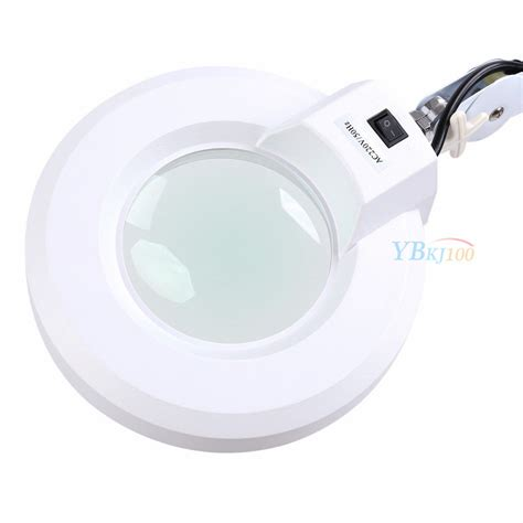 magnifying l with light led magnifying l floor desk table magnifier glass lens
