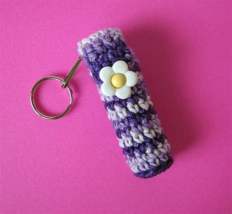 pattern for chapstick holder pin by rhonda lovett on crochet pinterest