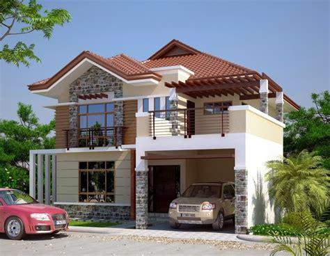 modern 2 storey house designs